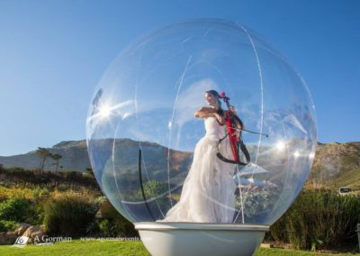 Carol Thorns in The Bubble outdoors 2