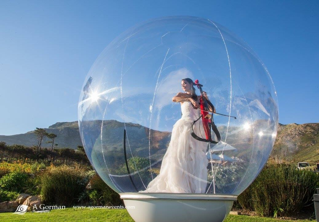 Performers t the bubble live carol thorns in the bubble outdoors 2 thecheapjerseys Image collections