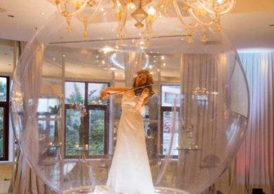 Violin in The Bubble 4